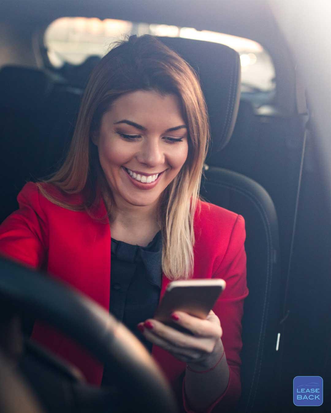 Financial lease voorstel om je auto terug te leasen bij Lease-Back maakt je blij